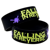 1PC Falling In Reverse Silicone Bracelet For Music Fans Show...