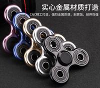 2017 Vendita calda Metallo Mano Spinner Lega Fidget Spinner EDC Fingertip Giocattolo Decompressione 5 Colori Able Mescola qualsiasi colore