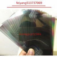 100 pcs original a qualidade polarizador filme polarizador película leve para iphone 7g 7 plus 4 4s 5 5s 5c se 6 6 s