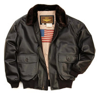 Luxury Lane   Landing Leathers US Navy Flying jacket Flight ...