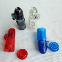 Plastic Snuff Dispenser Bullet Rocket Snorter smoking pipe b...