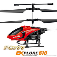 Профессиональный RC Drone Quadcopter Fq777-610 Mini Helicopter 3.5 CH 2.4 GHz Mode 2 RTF Gyro FQ777 610 пульт дистанционного управления Drone Toys подарок +B
