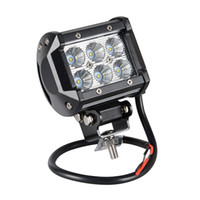 18W Cree LED Work Light Bar Motorcycle Tractor Boat OffRoad ...