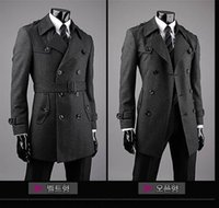 Wholesale- 2016 new arrival casual male wool coat outerwear ...
