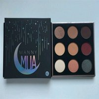 HOT NEW Manny MUA eyeshadow Powder Manny Eyeshadow Kit 9 Col...