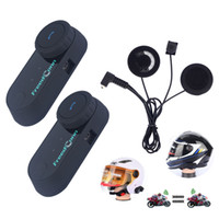 FreedConn 2Pcs Set FM Radio Rider to Rider Intercom Motorcyc...