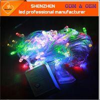 10M LED-String-Leuchten Outdoor Decoration Licht AC220V 10m 100LED Dekoration Licht Wasserdichte Weihnachtslicht Bunte Dekoration