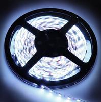 Spedizione gratuita Flessibile LED Strip Light SMD5050 DC24V / DC12V 60LEDS / M IP20 IP65 IP68 Holiday Party Lighting Ledstrip Tape Lampada Home Decor