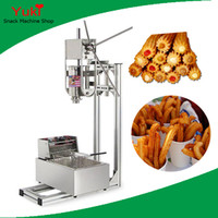 N13 Commercial Churros Machine 3L Churro Maker و 6l المقلاة الكهربائية الإسبانية كروس آلة للبيع الفولاذ المقاوم للصدأ