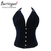 Corset femme sexy bleu corsets top corset et bustiers justaucorps cuirasses push up minceur corsets party sexy taille