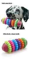 Haustier-Hundewelpen-Zahnen-Spielzeug für das Zahnen-Reinigung und Training, welches die Hundezahn-Gummikauen-Spielwaren spielt, geben Verschiffen frei