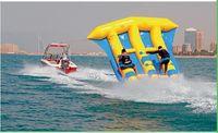 2020 PVC防水シン膨脹可能な飛行魚の管牽引/膨脹可能な水ゲームの海のためのフエッシュバナナボート