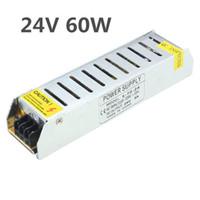 AC 110-220 V A DC24V 60 W / 100 W / 120 W / 150 W / 200 W Alimentatore Driver Trasformatore Adattatore Interruttore Per Lampadine Striscia LED