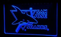 LS185- b San- Jose- sharks- Neon Light Sign Decor Free Shipping ...