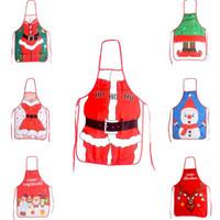 Natal engraçado que cozinha a cozinha avental Papai Noel sexy imprimir avental mulher para o homem Xmas Avental 11 cores