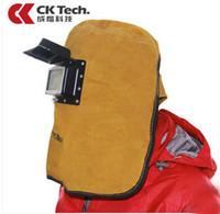 Lederschweißmaske Verschleißschutz Schweißkappe Schweißerbrille Schweißmaske