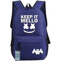 يبقيه ميلو ظهره مارشميلو daypack نيس دي جي المشجعين المدرسية حقيبة الظهر الموسيقى الرياضة حقيبة مدرسية حزمة يوم في الهواء الطلق