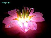 5 피트 / 2 m 매력적인 화려한 파티 조명 풍선 조명 꽃 LED 빛
