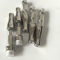 510 hilo cartucho de aceite de bho tanque de vidrio de hash bobina dual 0.5ml atomizador Bud GLA3 Toper atomizador de flujo de aire VS tanque de cerámica desechable