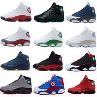 2017 air retro 13 men basketball shoes DMP Barons All Red Ch...