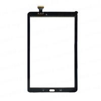 삼성 갤럭시 탭 9.7 인치 T550 탭 E 9.6 인치 T560 무료 DHL에 대 한 테이프와 터치 스크린 디지타이저 유리 렌즈