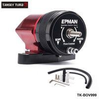Tansky -Car Sport Intercooler Рециркуляционный продувочный клапан BOV Kit Красный черный для 02-07 WRX 04-16 для STI TK-BOV999