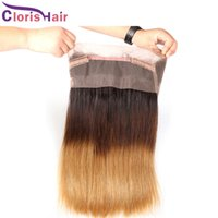 New Arrival 1B 4 27 Ombre Straight Brazilian Human Hair 360 ...