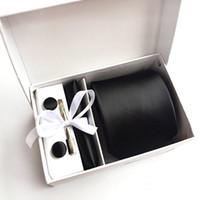 2017 تصميم جديد الحرير الرجال الرقبة العلاقات كليب المنديل cufflinks مجموعات ملابس الأعمال الرسمي حفل زفاف 1200 needlesie للرجال k06