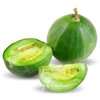 20 Pcs Green Sweet Melon Fruit Seeds Very Sweet Crisp Easy t...