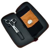 """Venta caliente 5.75 """"Dragón púrpura JP440C Tijeras de adelgazamiento de cabello Barber Shears Set Set Salon Professional Peluquería Haircut Tesouras LZS0318"""