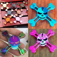 2017 Newest Styles Skull Fidget Spinner Pirates of the Carib...