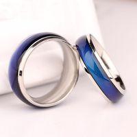 도매 믹스 크기 기분 반지 온도 변화 색상 반지 패션 쥬얼리