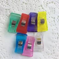 Dédouanement de perte / bord de retenue clips tadpole clip titulaire de bureau de papeterie avec pince en plastique hache