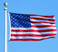 America Flag U. S. A National Flags Polyester U. S. Banner 90*1...