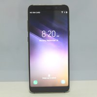 Новый Goophone S8 Plus Android 7.0 Quad Core MTK6580 1GB 4GB 1280 * 720 HD 8MP 3G показать 4G LTE-смартфон