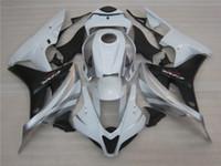 Spuitgieten ABS Plastic Fairing Kit voor Honda CBR600RR 07 08 White Black Backings Set CBR600RR 2007 2008 OT26