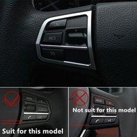 Кнопки рулевого колеса автомобиля крышка отделка хром ABS блестки для BMW F10 5 series 520 2011-17 авто аксессуары для интерьера