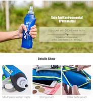 AONIJIE Outdoor 250ML Running Handheld Water Bottle Paquete de hidratación de teléfono de 4.7 pulgadas