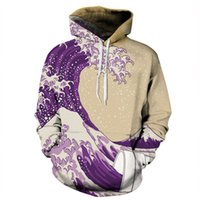 Youthcare Hoodie for Men and Women 3D printed Artistic Wave ...