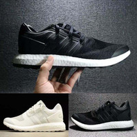 New Y- 3 pure boost Primeknit ZG Triple white black Kint ultr...