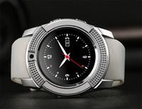 SC06 V8 DZ09 U8 Smartwatch Bluetooth Smart Uhr Mit 0,3 M Kamera SIM TF Karte Uhr Für Android S8 IOS Smartphone In RetailBox