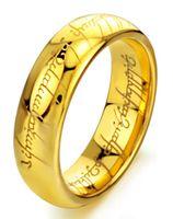 2021Texted Magic Power Ring Acciaio inox Acciaio inossidabile di alta qualità Nuovi anelli per monili da uomo Regalo Parte A buon mercato Vari colori Promozione