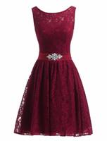 100% foto reale economici brevi abiti da ballo in pizzo corto poco nero bianco rosa blu royal rosso lavanda abiti da cocktail formale in magazzino