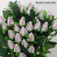 2017 softball de beisebol costura couro rosa