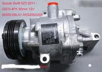 Venda direta da fábrica de autopeças compressor de ar condicionado QS70 para Suzuki Swift SZ3 2011-95200-68LA1 AKS200A205