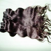 """220 Best Selling 5 / 6PCS Lotto 12 '' - 28 """"100% a buon mercato Brasiliano trasformato trama dei capelli umani di colore naturale estensioni ondulate"""