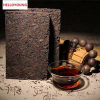 Förderung 250g Yunnan Classic Puer Tee Ziegel Reife Pu Er Tee Bio Natürlich Schwarz Pu'er Tee Ziegel Alte Baum gekocht Puer Grünes Essen