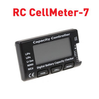 Free shipping RC CellMeter- 7 Digital lipo battery capacity c...