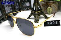chifre de búfalo França American piloto óptica óculos de sol óculos grande prata quadro ouro marrom cinza lentes pretas com aros Homens e Mulheres