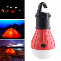 Multifonctionnel Ampoule Extérieure De Travail LED Tente Lumière Imperméable À L'eau Portable D'urgence Camping Lampe Lanterne Hingking accessoires